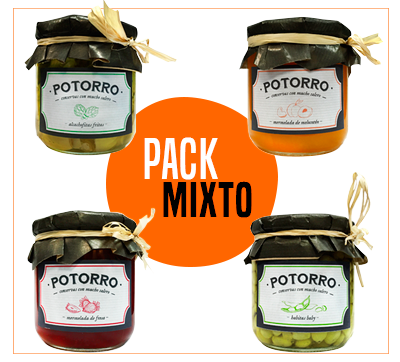 Pack Mixto Potorro